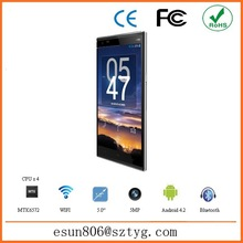 Best Quality 4G LTE android 4.4 china mobile 1GB RAM 8G ROM 5 inch OEM cellphone