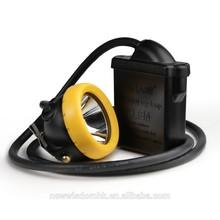 high power cree led headlamp IP68 waterproof miner's cap lamp KL8M ATEX Approved