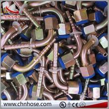 Sizes Heat Resistance 2015 brass ball seat type swivel hose fitting