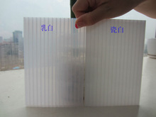 holow polycarbonate sheet for roofing project with uv coating for 10 years warranty