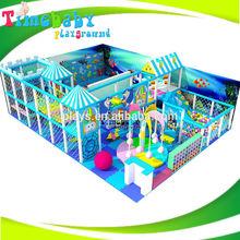 Kindergarten Indoor Playground Set, Naughty Castle Playground With Trampoline Park