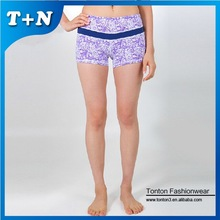 plus size lustig boxer festsitz nahtlose yoga shorts