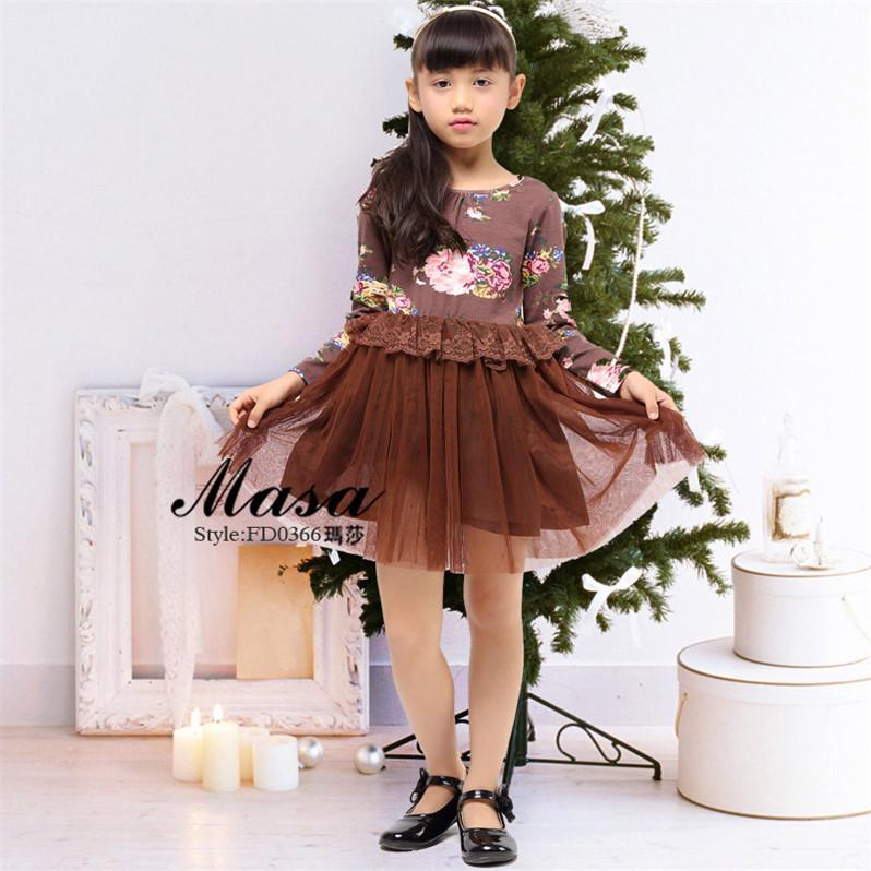 Cheap Wholesale Children Girl Dress 2015 Cute Korea Style Child ...