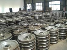 IRS International standard wheel for railway wagon wheel passenger wheel for hot sale