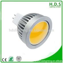 HDS led lighting 3 watt COB mr16 led bulbs ce rohs 3 years warranty
