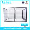 chain link modular panel dog kennel