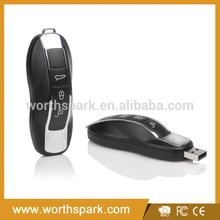OEM plastic 2gb 4gb 8gb car key usb flash memory