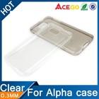 (Acego) 0.3mm 2015 transparent soft tpu mobile phone cover for samsung galaxy alpha