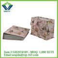 Shantou fábrica caixa de presente, diferentes tipos de artesanato
