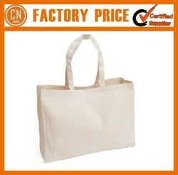 Wholesale Tote Bags Factory Sale Plain Blank Canvas Tote Bag