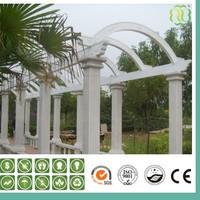 White Outdoor WPC Pergola/Recycle Wpc Pergola/Pavilion