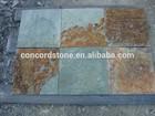 flooring tiles slate rusty green