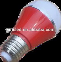 Jiaxing Hongerlai Energy Saving Good Quality New Design SMD5630 4W G50 Yellow LED Bulb E27