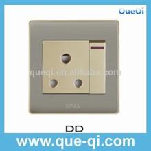 2015 middle east hot sale new design 15 amp socket