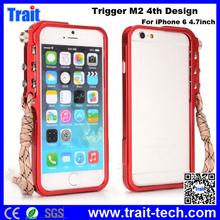 Case Cover For iPhone 6 4.7inch, Trigger M2 4th Design Tactical Edition Premium Aluminium Metal Bumper Case