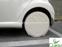 Canvas wheel cover, canvas tire cover