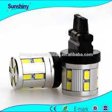 car led lights t20 w21/5w 7443 SAE DOT ECE 7inch LED Round Angel Eyes Head lamp