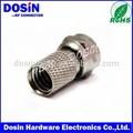 f conector coaxial cable rg6 rg58 rg59 rg11 de compresión conectores f