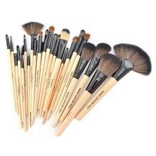Perfect Wholesale Portable 24 pcs Set Cosmetic Brush Makeup Kit
