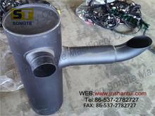 PC400-7 muffler ass'y 6156-11-5281 PC450 excavator exhaust muffler