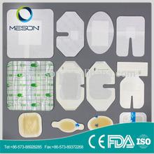 campione gratuito morbido adesivo medicazione sterile medico bombola di ossigeno portatile