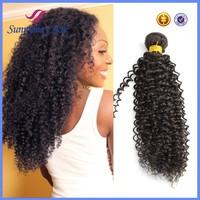 "Mongolian Kinky Curly Hair Weave 3 pcs a lot 14"" 16"" 18 ""Afro Kinky Curly Hair Weft Mongolian Kinky Curly Virgin Hair Bundles"