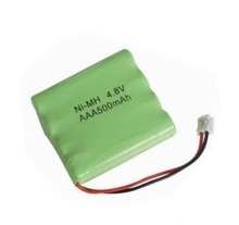 NIMH 4.8V 500MAH BATTERY/NIMH 4.8V 500MAH CORDLESS PHONE BATTERY PACK MANUFACTURER WITH CE,ROHS,UL CERTIFICATES