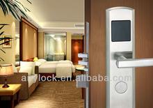 hune intelligent lock system card door lock for motel