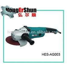 """( Hes-ag003 ) venda quente mão angle grinder 7 """" angle grinder air"""