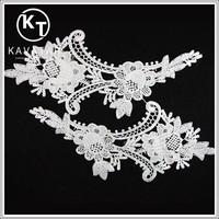 Neck design of salwar suits lace