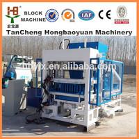qtj4-18 coal dust brick making machine hollow block machine