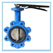 Cast Iron LT Handle Operated Handle Butterfly Valve