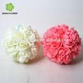 Bola flor decorativa, artificial bola de flores para decoração de casamento