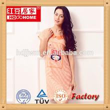 hote selling girls summer cotton pajamas hot sleepwear pajamas night wear