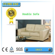 Modern two seater leather sofa living room sofa furniture