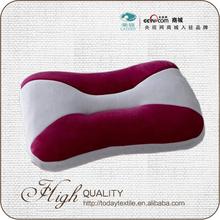 hot new retail memory foam pillow with short plush material