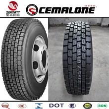 DOT,ECE,CCC,GCC,REACH,ISO9001,ISO14000 Certification TBR tyres in bulk
