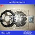 motocicleta sistema de transmissão wave125 roda dentada da motocicleta e cadeia kits