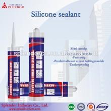 General purpose anti-fungas acetic silicone sealant