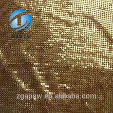 Decorations Shiny Metal Curtain Fabric