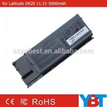 laptop battery for Latitude D620 11.1V 5000mAh 56Wh