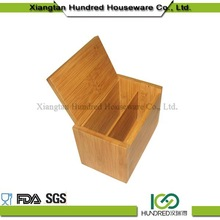 High Quality Factory Price custom bamboo box with cover