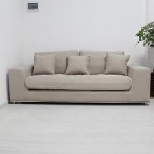 fabric sofa office sofa three seats sofa