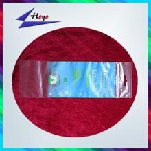 heat seal printed zip lock plastic bag with handle hole