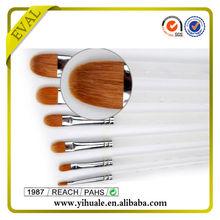 Synthetic nylon artist plastic brush