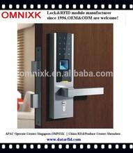 RFID card fingerprint zinc alloy modern lock D-7030 for government