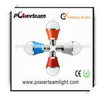 powerteam e27 6 watt 590lm corridor bulb lamp warm white 6500k energy saving auto on / off PIR motion sensor led night light