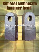 Coal Power Plant Crusher Bimetal Compound Hammer Head