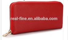 Famous Brand Designer double zipper Women Wallets PU Leather Purses Multi Colors Purse Lady hand bag Womens long Wallet