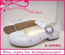 elegant for bright diamond flower girls communion kids shoes